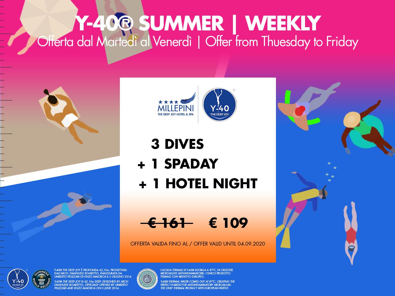 Y-40 3 DIVES - Weekly
