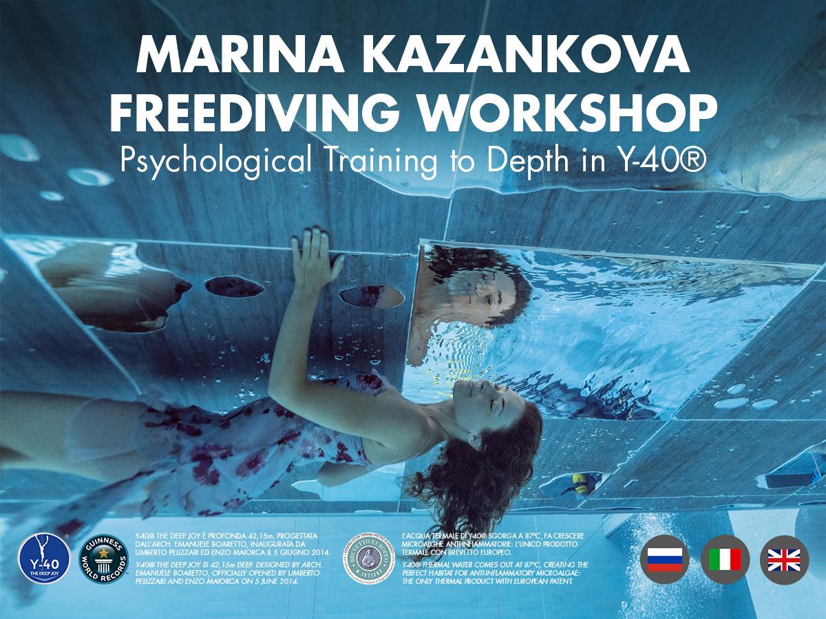 Workshop con Marina Kazankova 25-29 dicembre 2021