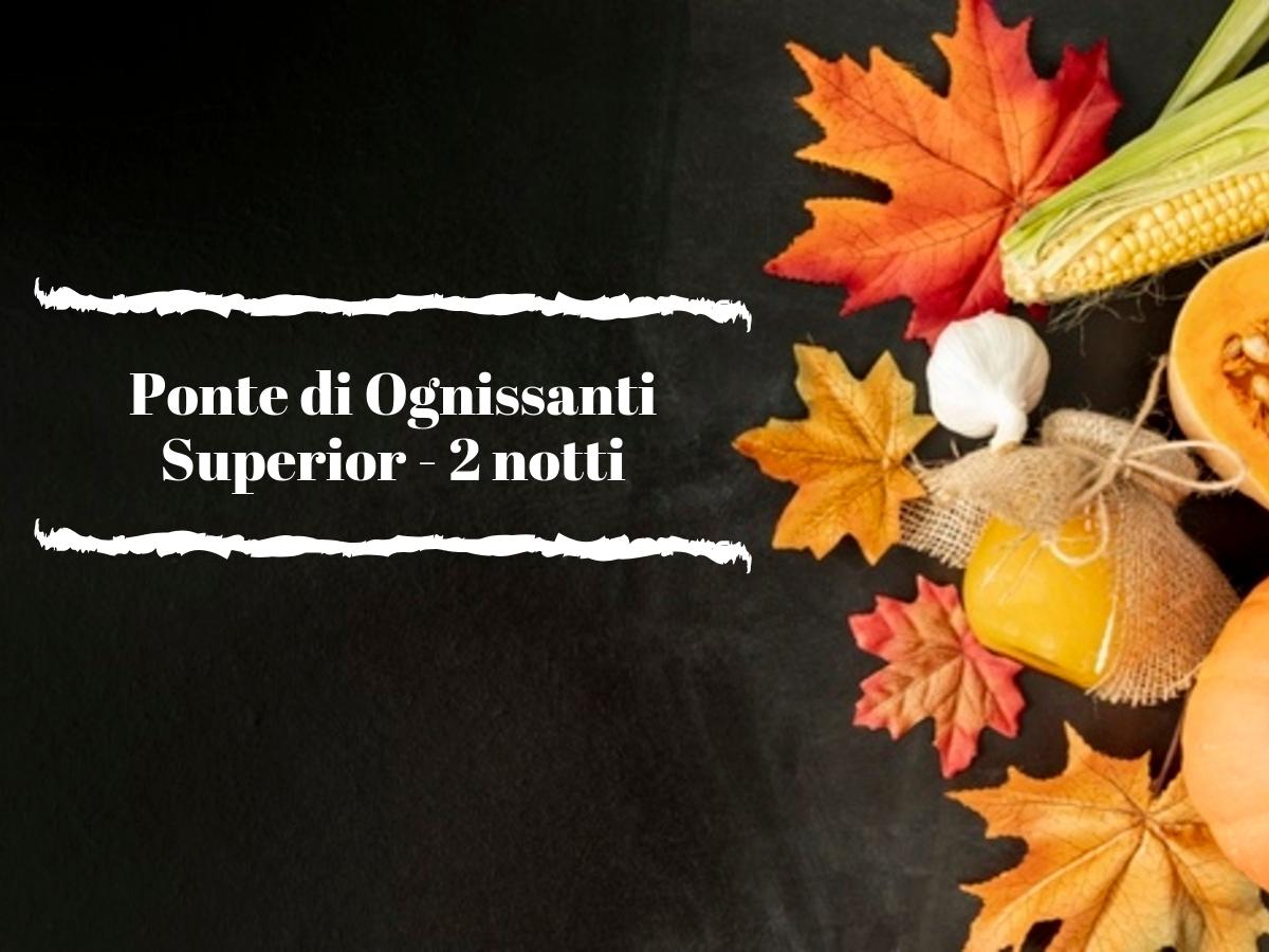 Ponte di Ognissanti - 2 notti SUPERIOR BASIC