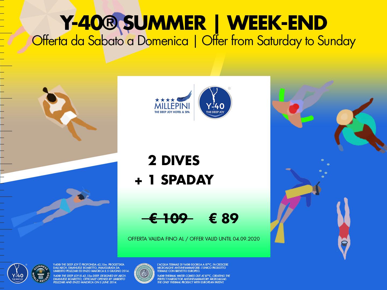 SPA & Dive 2 - Weekend