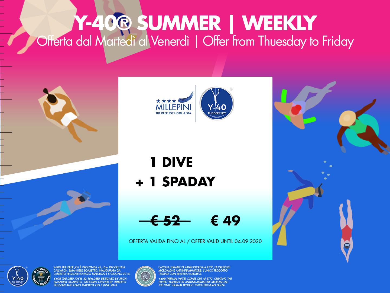 SPA & Dive 1 - Weekly