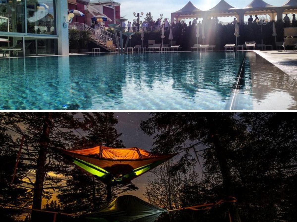 Tentsile night + Spa