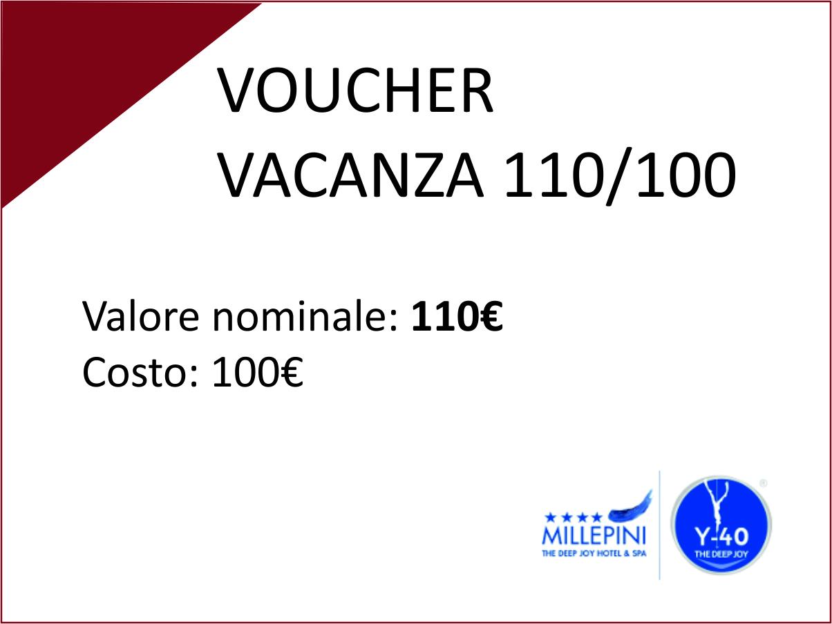 Voucher Vacanza 110