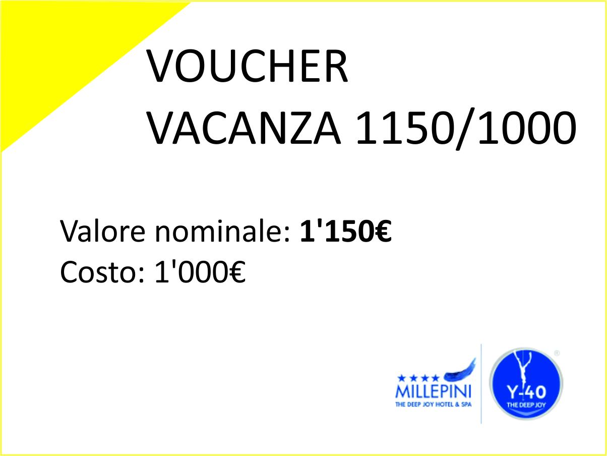 Voucher Vacanza 1150